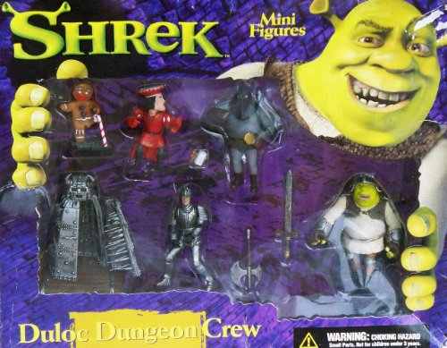 Picture of McFarlane Shrek Duloc Dungeon Crew - B Figure (B000YUCKC2) (McFarlane Action Figures)