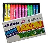 Jaxon 47408 - Pastell - Ölkreiden, 12-er Pack, neonfarben hergestellt von Jaxon