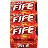 Dentyne Fire Sugar Free Gum (Spicy Cinnamon  16 Piece  Pack of 9) (Color: 9, Tamaño: 9-Pack)