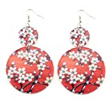 Cherry Blossom Hook Earrings