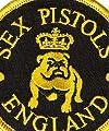 【アメリカ直輸入オフィシャルグッズ】<br>セックス・ピストルズ ワッペン Sex Pistols Bulldog(121112)