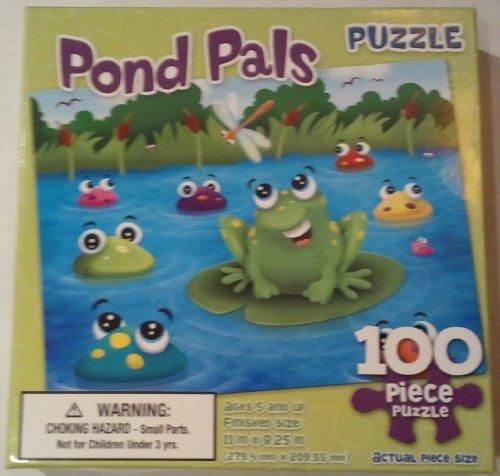 """""""Pond Pals"""" 100 Piece Puzzle"""