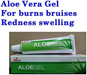 Aloe Vera Gel A Acne Burn Wound Treatment Redness Swelling used