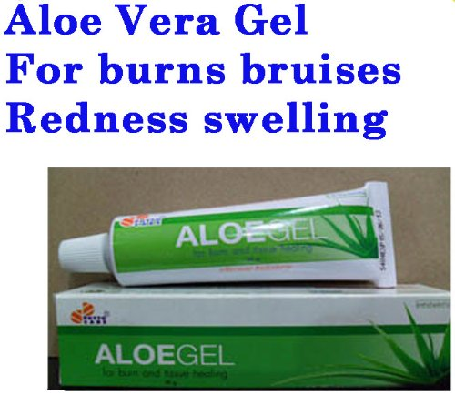 Aloe Vera Gel A Acne Burn Wound Treatment Redness Swelling Used With Retin.