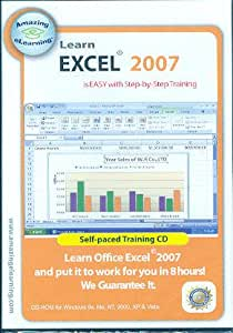 Learn Microsoft Excel 2007 Fast with Step by step training