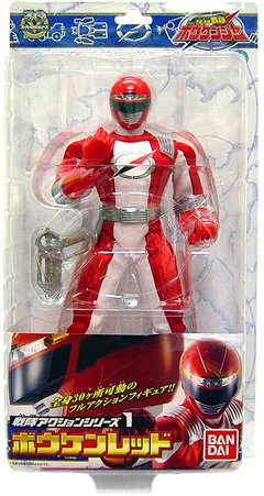 Power Rangers Operation Overdrive Japanese 12 Inch Action Figure Red Ranger