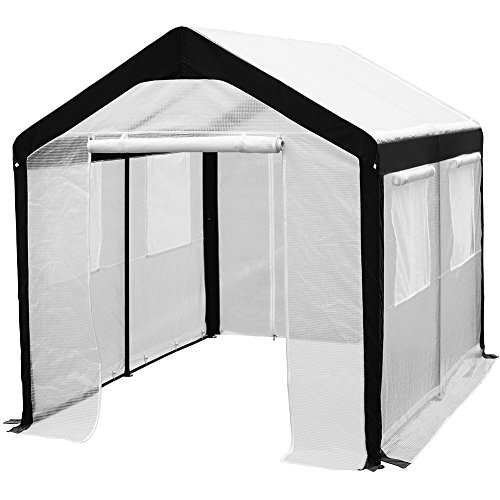 Abba-Patio-Large-Walk-in-Fully-Enclosed-Lawn-and-Garden-Greenhouse-with-Windows-8-X-10-ft-White