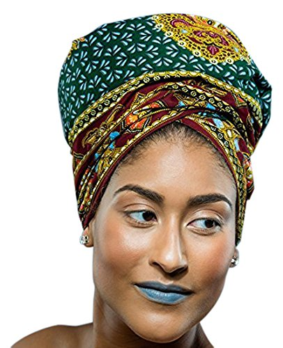Glamorous Chicks Cosmetics Royalty African Headwrap (African Head Wrap For Women compare prices)