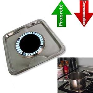 Lot de 4 - Ecocuiseur Inox- Économise l'énergie, accélère la cuisson et évite les salissures.