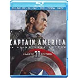 Captain America (3D) (Blu-Ray 3D+Blu-Ray+Dvd+Digital Copy)di Samuel L. Jackson