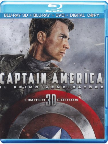 Captain America - Il primo vendicatore (limited edition) (3D+2D+DVD) [Blu-ray] [IT Import]
