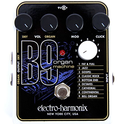 electro harmonix b9 organ machine pedal review guitar gear finder. Black Bedroom Furniture Sets. Home Design Ideas