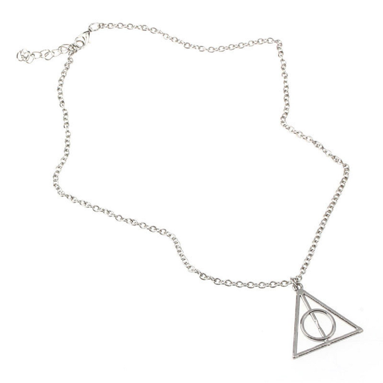 ABC® Fashion Retro Triangle Pendant Jewelry Necklace Lovely Gift часы песочные d16 см х h38 см