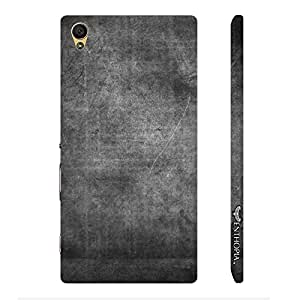 Sony Xperia Z5 Dual CHARCOAL GRUNGE designer mobile hard shell case by Enthopia