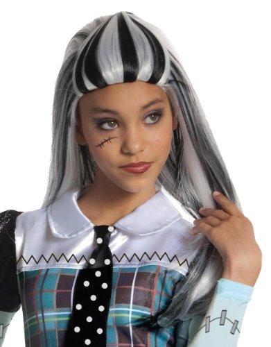 Monster High Frankie Stein Girls Wig