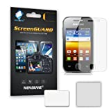6 IN 1 PACK ANTI-GLARE LCD SCREEN PROTECTORS FOR SAMSUNG GT-S5360 GALAXY Y - 3 LAYER ANTI-SCRATCH DISPLAY SAVERS