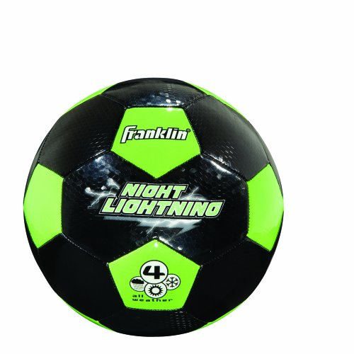 Franklin Sports Night Lightning Soccer Ball (Size