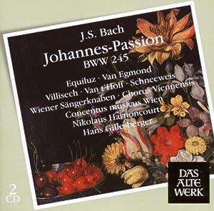 Bach : La Passion selon Saint Jean BWV 245