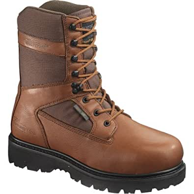 "Men's Wolverine® Mammoth Wolverine® Gore-Tex® Insulated Waterproof 9"" Sport Boot (7 M in Sienne/Maxi® Brown)"
