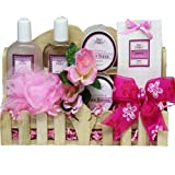 Spa Day Get-A-Way Bath and Body Set - A Great Gift Basket For Mom!