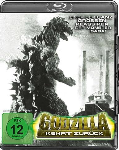 Godzilla kehrt zurück, Blu-ray