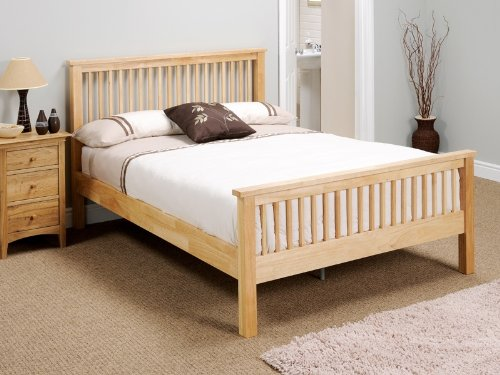 Snuggle Beds Aladdin in Natural Single Bed Frame
