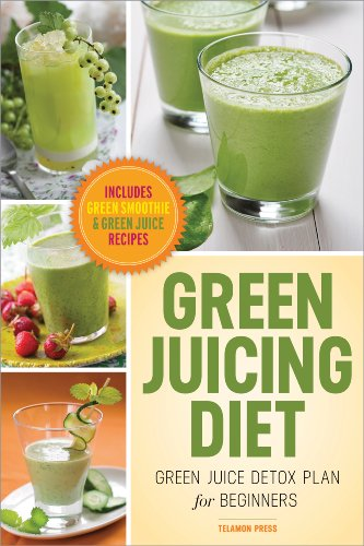 Green Juicing Diet: Green Juice Detox Plan For Beginners-Includes Green Smoothies And Green Juice Recipes front-105188