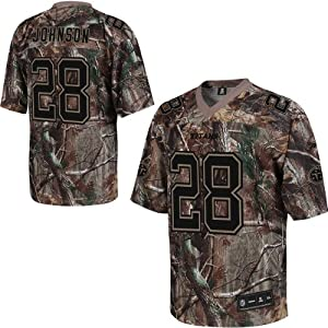 Reebok Tennessee Titans Chris Johnson Realtree Replica Jersey by Reebok