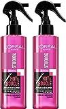 Studio Line L'Oréal Paris Studio Line Spray Coiffant Hot & Boucle Boucle Rebondies 200 ml - Lot de 2