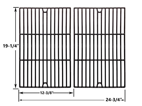Replacement Porcelain Cast Iron Cooking Grids