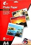 12 Sheets A4 Gloss Photo Paper 235 gs...