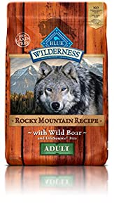 Blue Buffalo Wilderness Adult Rocky Mtn Recipes Boar 22 lb