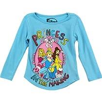 "Disney Princess ""Princess in the Making"" Blue Toddler Glittered T-Shirt (2T)"