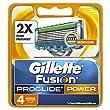 Gillette Fusion ProGlide Power Razor Blades - Pack of 4