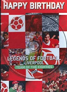 And Sealed Liverpool Football Team Dvd Birthday Card - Legends Of Liverpool Football Dvd Birthday Card