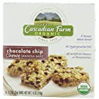 Cascadian Farm Organic Chewy Granola Bar, Chocolate Chip, 6-Count Boxes (Pack of 6)