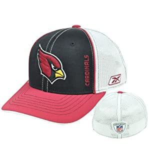 NFL Sideline Equipment Arizona Cardinals Flex Fit Reebok Rbk Kids Child Hat Cap by Reebok