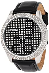 Phosphor Women's MD005L Appear Collection Fashion Crystal Mechanical Digital Watch