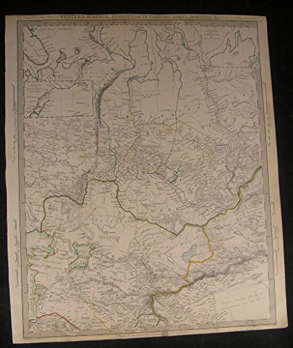 west-siberia-independent-tartary-aral-sea-1838-antique-engraved-hand-color-map