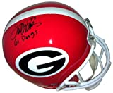 "Terrell Davis Signed Georgia Bulldogs Full Size Helmet ""Go Dawgs - Autographed NFL Helmets at Amazon.com"