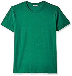 Fox Boys' T-Shirt  (Green Melange_16 years_337383)