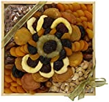Golden State Fruit Tapestry of Dried Fruit and Nuts Basket