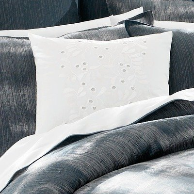 Tommy Bahama Indigo Ombre Embroidered Decorative Pillow