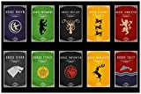 spoilt Game Of Thrones All Clans - Poster for Home/Office Décor