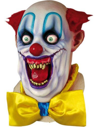 Scary-Masks Rico The Clown Mask Halloween Costume - Most Adults