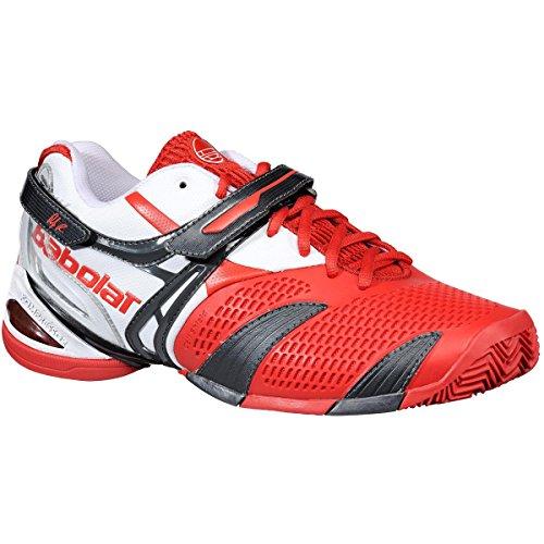 Babolat, Scarpe da tennis uomo Rosso rosso 38.5 EU / 5.5 UK / 6 US