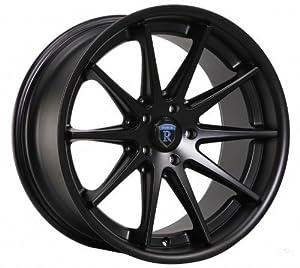 19″ Wheels Rohana Rc10 19×8.5 19×9.5 Audi A4 5×112 Matte Black