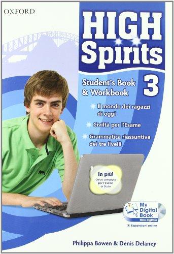 High spirits. Student's book-Workbook-My digital book. Con espansione online. Per la Scuola media. Con CD-ROM: 3