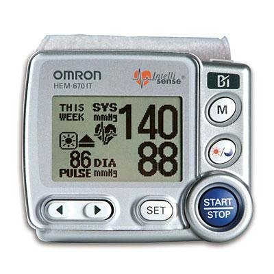 Cheap Selected Wrist Blood Pressure Monitor By Omron Healthcare (HEM-670ITN)