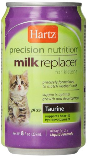 Hartz Precision Nutrition Liquid Milk Replacer for Kittens, 8 Ounce